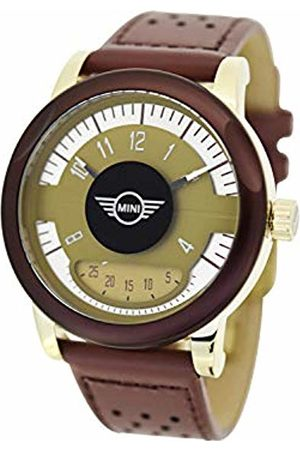 Boden Mini Unisex Adult Analogue Classic Quartz Watch with Leather Strap SM-005