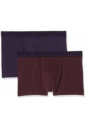 Dim Sous-vêtements Homme Men's Boxer Soft Power X2 Shorts, (Mauve Vigne/Violet Velours 8nm)