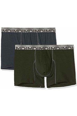 Dim Men's 3D Flex MORPHOTECH Boxer X2 Shorts, Multicolore (Gris Granit/Vert Kaki 8nu)