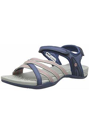 Hi-Tec Women's Savanna II Ankle Strap Sandals (Flint Stone/Cool 51) 7 (40 EU)