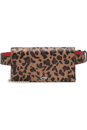 Christian Louboutin Boudoir leopard-print leather belt bag