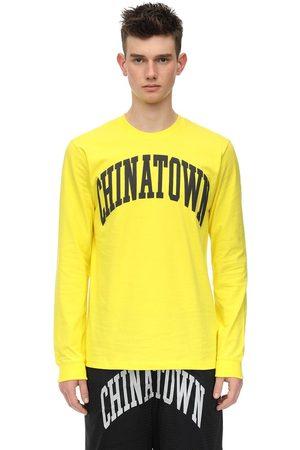 Chinatown Market Arc Long Sleeve Cotton Jersey T-shirt