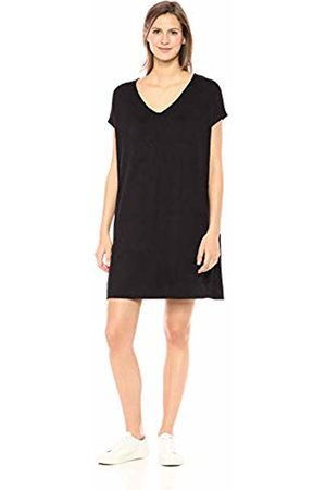 Daily Ritual Women's Supersoft Terry Dolman-Sleeve V-Neck Dress