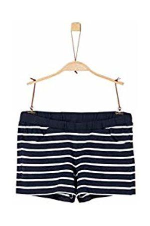 s.Oliver Girl's 73.906.75.4993 Short, (Dark Stripes 58g1)