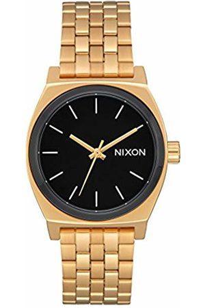 Nixon Medium Time Teller 31mm Gold / / White - Watch Women
