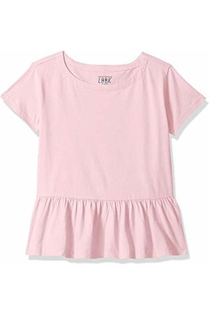 LOOK by crewcuts Girls' Short Sleeve Peplum tee