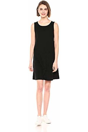 Daily Ritual Lived-in Cotton Sleeveless Boat-Neck Dress Casual