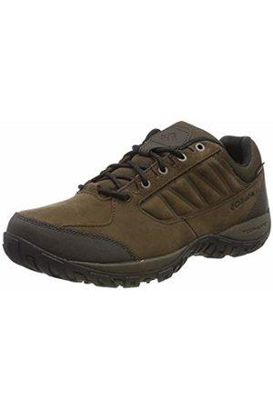 Columbia Men's Hiking Shoes, RUCKEL RIDGE PLUS Waterproof, (Cordovan, Madder )
