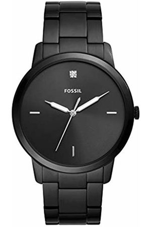 Fossil Mens Analogue Quartz Watch with Stainless Steel Strap FS5455
