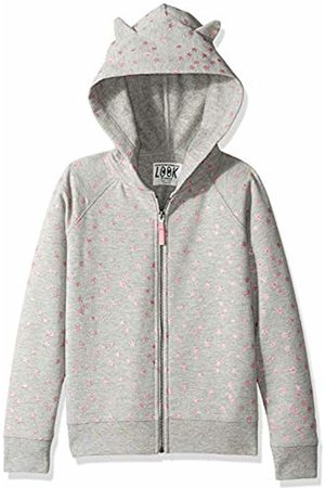 LOOK by crewcuts Girls' Critter Hoodie