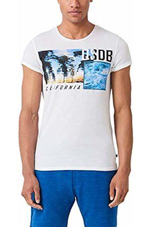 s.Oliver Men's 47.906.32.5275 T-Shirt, ( 0100)