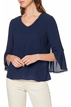 Dorothy Perkins Women's Trim Sleeve V Neck 3/4 T - Shirt