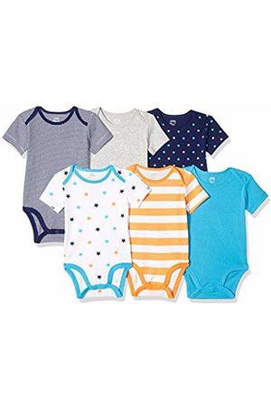 Amazon Baby Short Sleeve - 6-Pack Short-Sleeve Bodysuit Layette Set