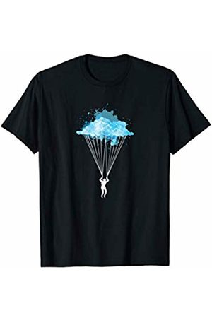 Extreme Sports Skydiving Sky Divers Gifts Skydiver's Awesome Skydiving Parachuting Sports T-Shirt