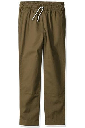 LOOK by crewcuts Boys Chinos - Boys' Pull on Chino Pant Olive