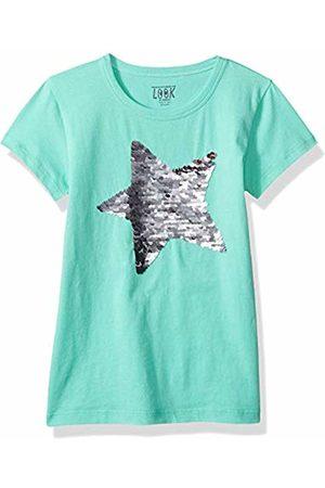 LOOK by crewcuts Girls T-shirts - Girls' Short Sleeve Flip Sequin Tee