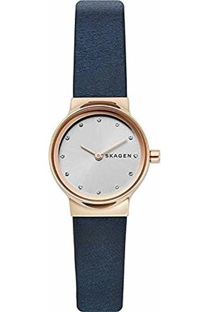 Skagen Womens Analogue Quartz Watch with Leather Strap SKW2744