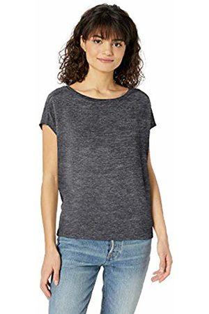 Daily Ritual Women Short Sleeve - Women's Cozy Knit Dolman Short-Sleeve Tie-Back Shirt