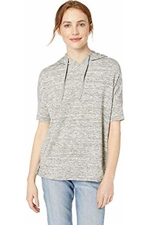 Daily Ritual Women's Supersoft Terry Hooded Short-Sleeve Sweatshirt