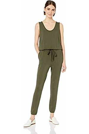 Daily Ritual Women's Supersoft Terry Sleeveless Jumpsuit
