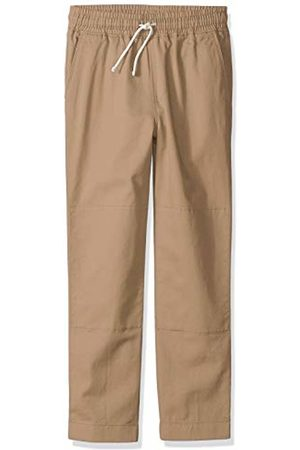 LOOK by crewcuts Boys' Pull on Chino Pant Khaki