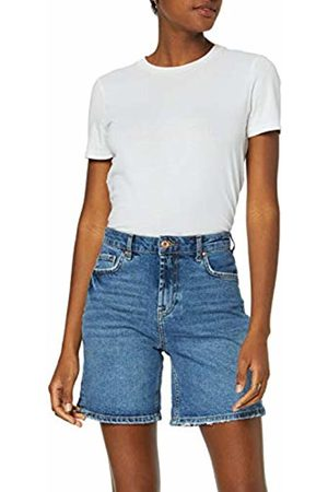 Pieces NOS Women's Pcleah Mom Hw Shorts Mb213-ba/noos Medium Denim