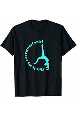 Noodle Bean Apparel Gymnastics Shirt - This is my Cartwheel Shirt - T-Shirt