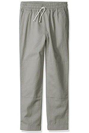LOOK by crewcuts Boys' Pull on Chino Pant Gray