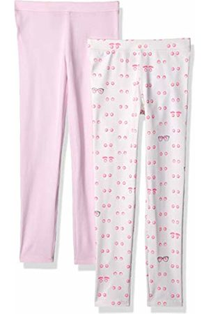 LOOK by crewcuts 2-Pack Leggings Eyes/