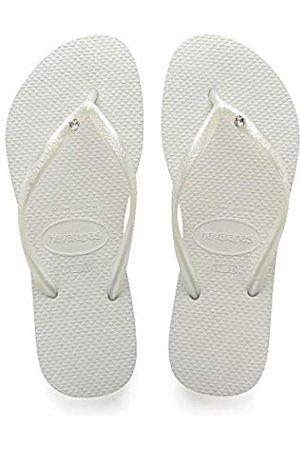 Havaianas Women's Slim Crystal Glamour Sw Flip Flops, 39/40 EU