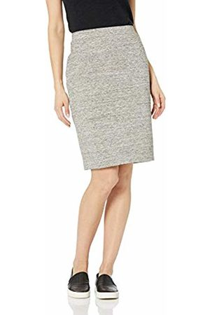 Daily Ritual Women's Terry Cotton and Modal Pencil Skirt