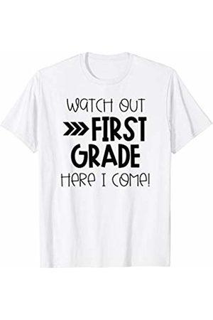 867576c2 1st Teacher Team Shirts- First Day of First Grade - Last Day T-Shirt