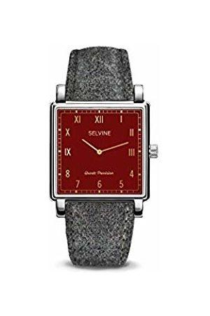 Selvine Women Watches - Womens Analogue Quartz Watch with Stainless Steel Strap SCHE8