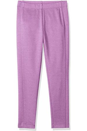 LOOK by crewcuts Girls' Ponte Pant Orchid