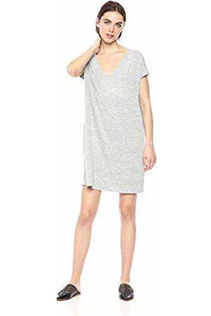 Daily Ritual Women's Cozy Knit Dolman-Sleeve V-Neck Dress