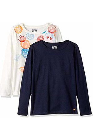 f5da2492 LOOK by crewcuts Boys' 2-Pack Graphic/Solid Long Sleeve T-Shirt