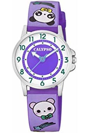 Calypso watches Unisex Child Analogue Classic Quartz Watch with Plastic Strap K5775/2