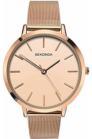 Sekonda Womens Analogue Classic Quartz Watch with Stainless Steel Strap 2475.27