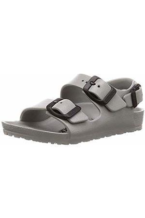 Birkenstock Boys' Milano Sling Back Sandals, Seal Gray