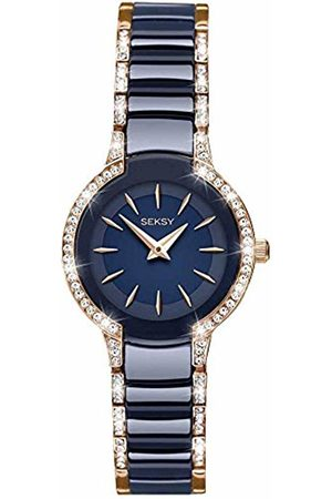 Sekonda Womens Analogue Classic Quartz Watch with Brass Strap 2382.37