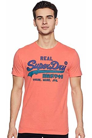 Superdry Men's Vintage Logo Fade Mid Weight Tee T-Shirt, (Skate A7x)