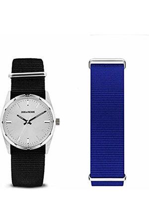 Zadig & Voltaire Unisex Adult Analogue Quartz Watch with Nylon Strap ZVFA210