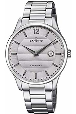 Candino Mens Analogue Classic Quartz Watch with Stainless Steel Strap C4637/2