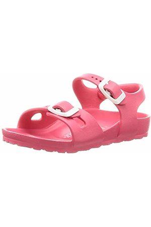Birkenstock RIO, Girls' Ankle-Strap Ankle Strap Sandals, Rose (Coral Coral)