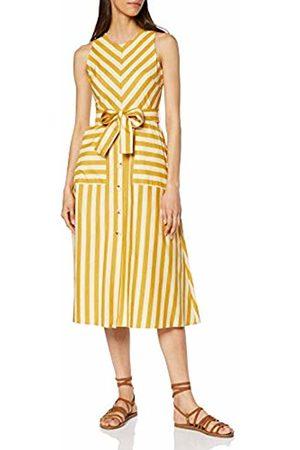 warehouse Women's Stripe Button Front Dress, 80