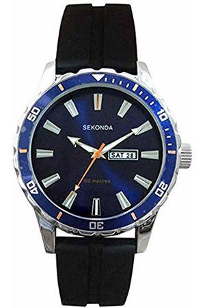 Sekonda Unisex-Adult Analogue Classic Quartz Watch with Rubber Strap 1350.27