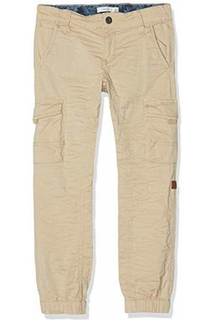 Name it Boys Cargo Trousers - Boy's Nmmromeo Twibri Cargo Pant Bj Trouser, Pepper