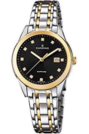 Candino Womens Analogue Classic Quartz Watch with Stainless Steel Strap C4695/3