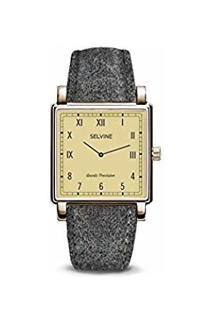 Selvine Womens Analogue Quartz Watch with Stainless Steel Strap SCHE11