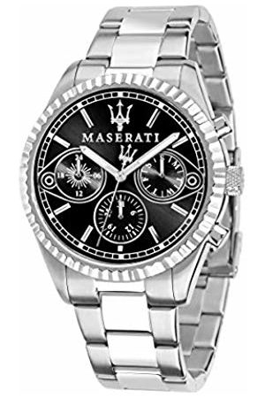 Maserati Mens Chronograph Quartz Watch with Stainless Steel Strap R8853100014